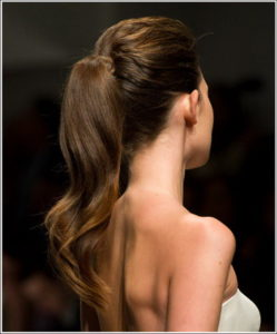 Long Ponytail Bridal Bridal Haircuts