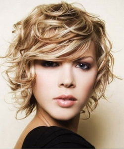 Soft medium long curly hairstyles