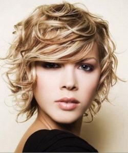 Soft medium long curly hairstyles